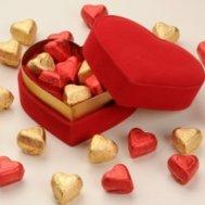 kalpli çikolata kutusu