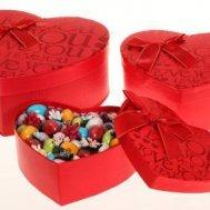 çikolata ve şekerleme kutusu