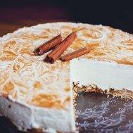 Limonlu Frambuazlı Mereng Pasta